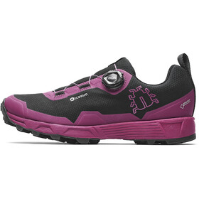 Icebug W's Rover RB9X GTX Shoes Black/Hibiscus